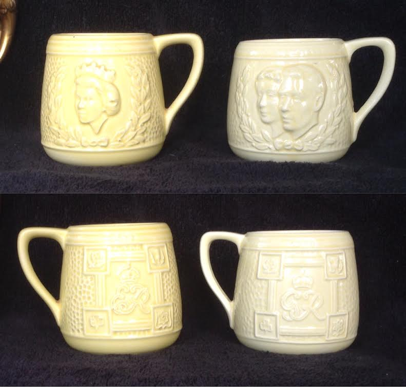 Which pieces of Crown Lynn were copied from overseas potteries? Royals10