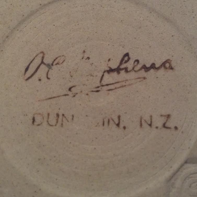 A different hand-potted O.C. Stephens mug Scratc10