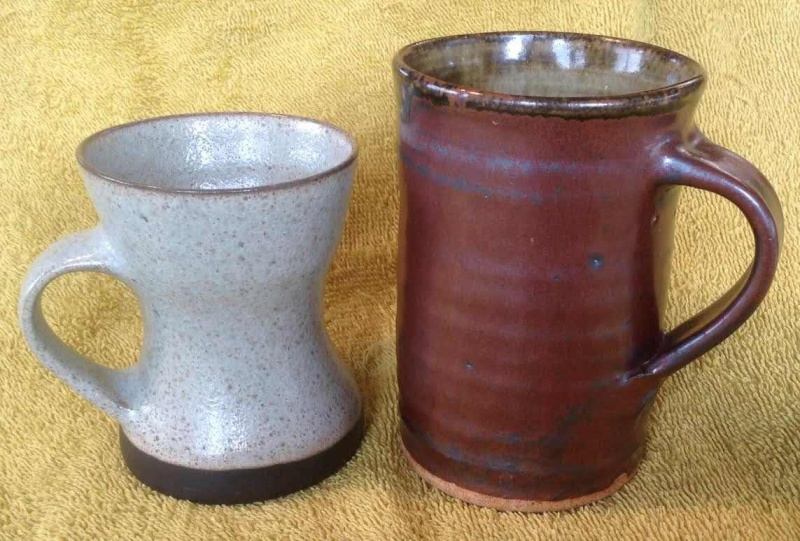 Don Thornley mug and vase. And another mug, and another Thornl12