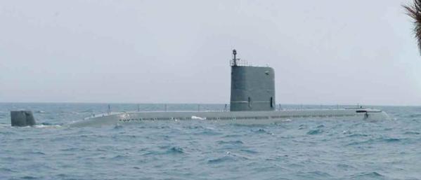 Corée du Nord : sous-marin lance-missile balistique 27172610