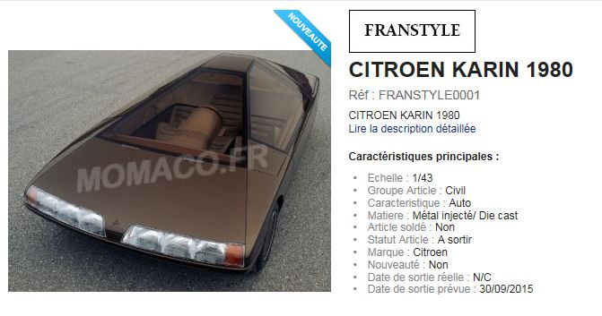 FRANSTYLE  NOUVELLE MARQUE MOMACO Karin110