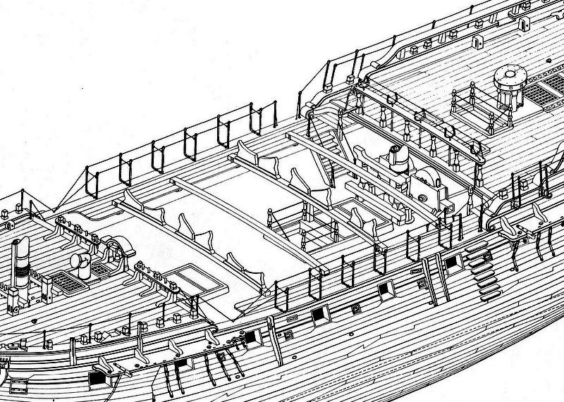 Fregate H.M.S Surprise au 1/48 de A.L - Page 2 Img05510