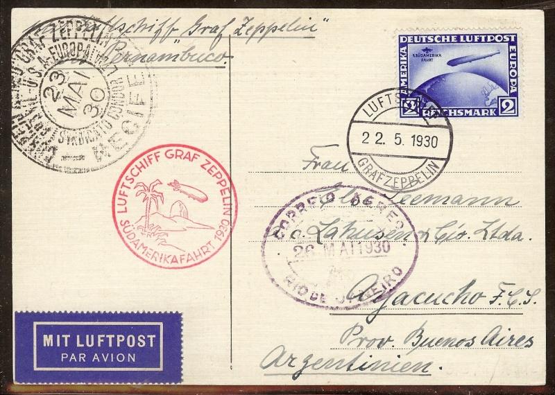nach - Südamerikafahrt 1930, Post nach Pernambuco - Seite 3 57_b_k10