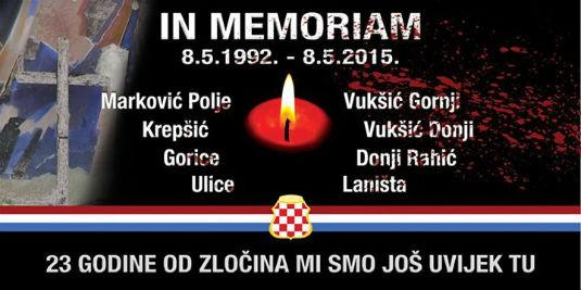 23. obljetnica masakra nad hrvatskim civilima Brčkog 11173310