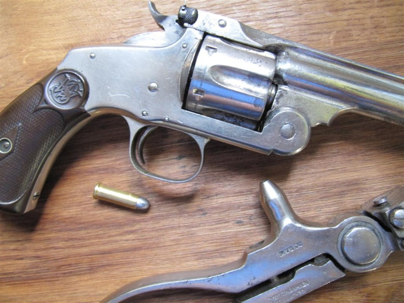 Smith & Wesson New Models N° 3 Target cal .32-44 Img_3911