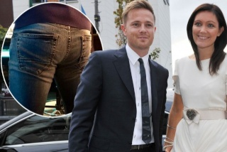 ¿Llevó Nicky Byrne los pantalones de su esposa para trabajar?  Nickyf10
