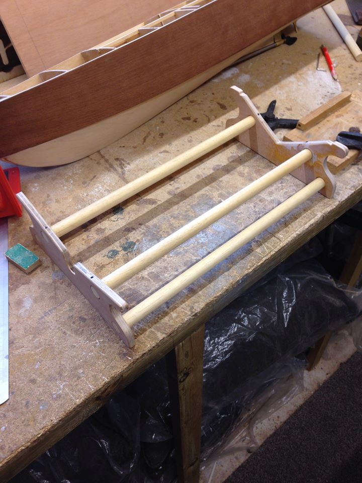 Building a boat stand 10