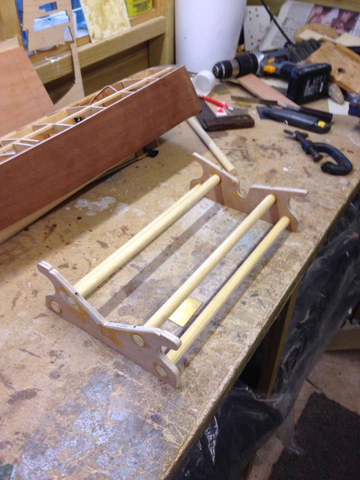 Building a boat stand 125