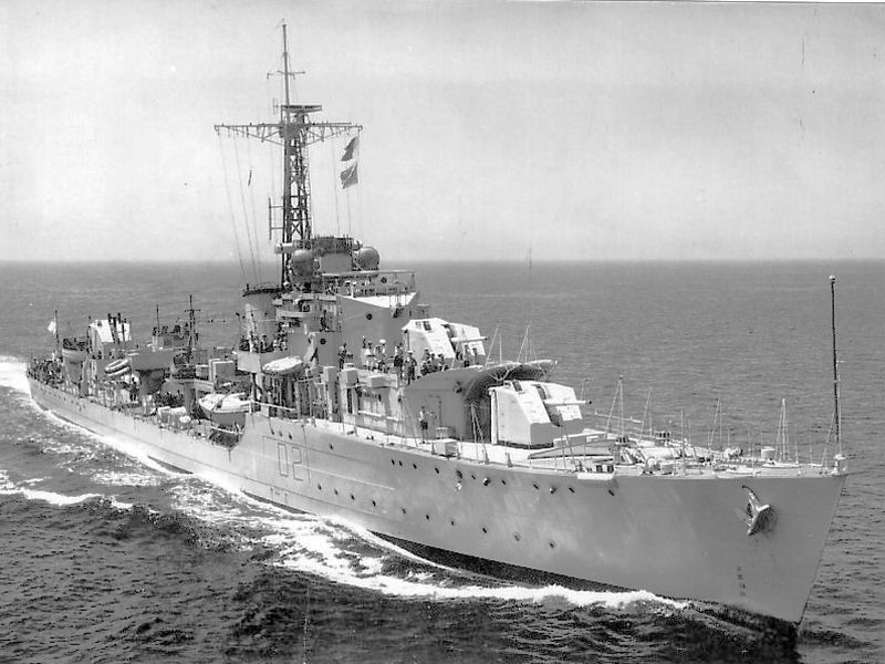 DESTROYER DE LA ROYAL NAVY : du CAESAR au DUCHESS 97496a10