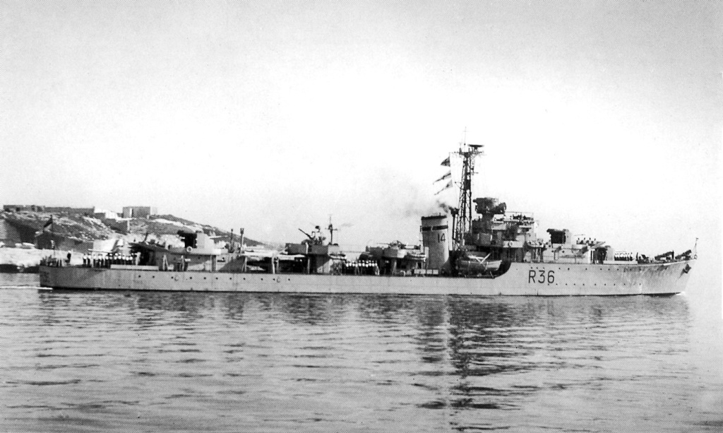 DESTROYER DE LA ROYAL NAVY : du CAESAR au DUCHESS C1_chi10