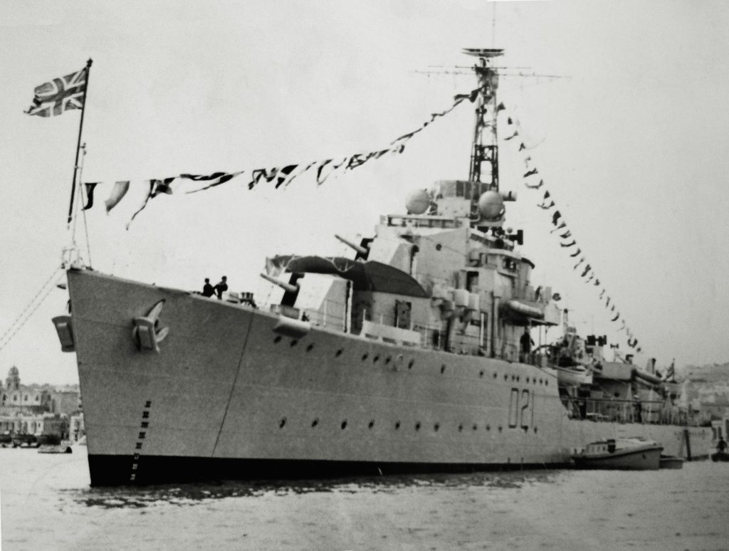 DESTROYER DE LA ROYAL NAVY : du CAESAR au DUCHESS Chival10