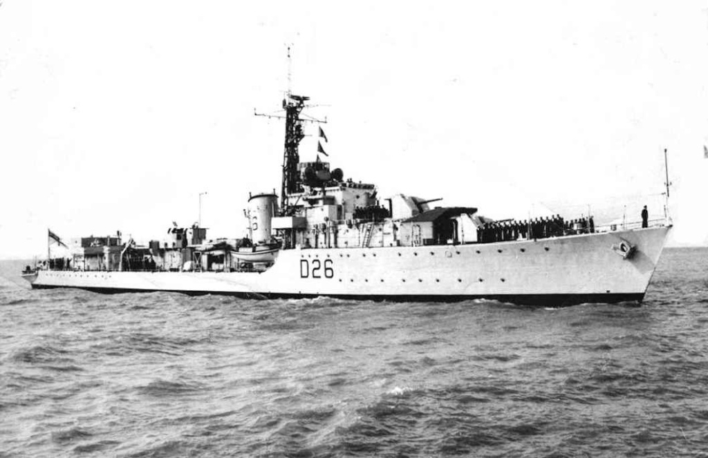 DESTROYER DE LA ROYAL NAVY : du CAESAR au DUCHESS Comet_10