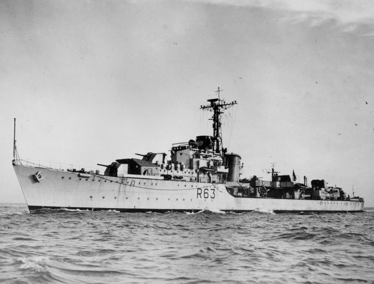 DESTROYER DE LA ROYAL NAVY : du CAESAR au DUCHESS Concor10
