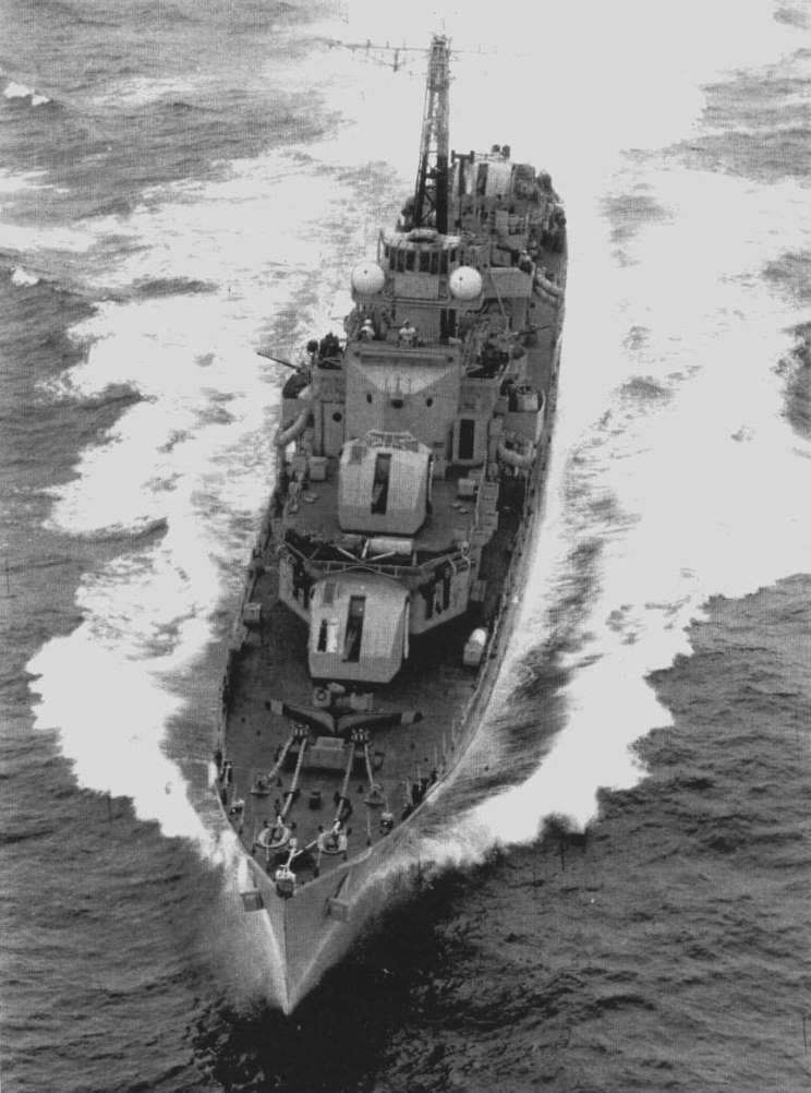 DESTROYER DE LA ROYAL NAVY : du CAESAR au DUCHESS Concor11