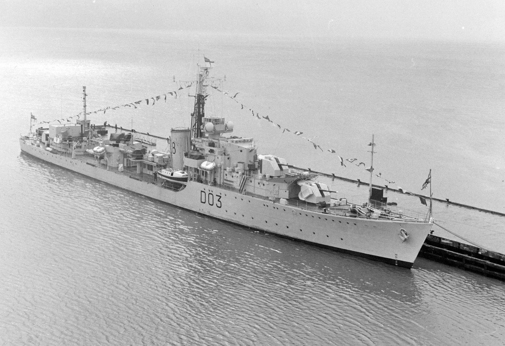 DESTROYER DE LA ROYAL NAVY : du CAESAR au DUCHESS Concor12