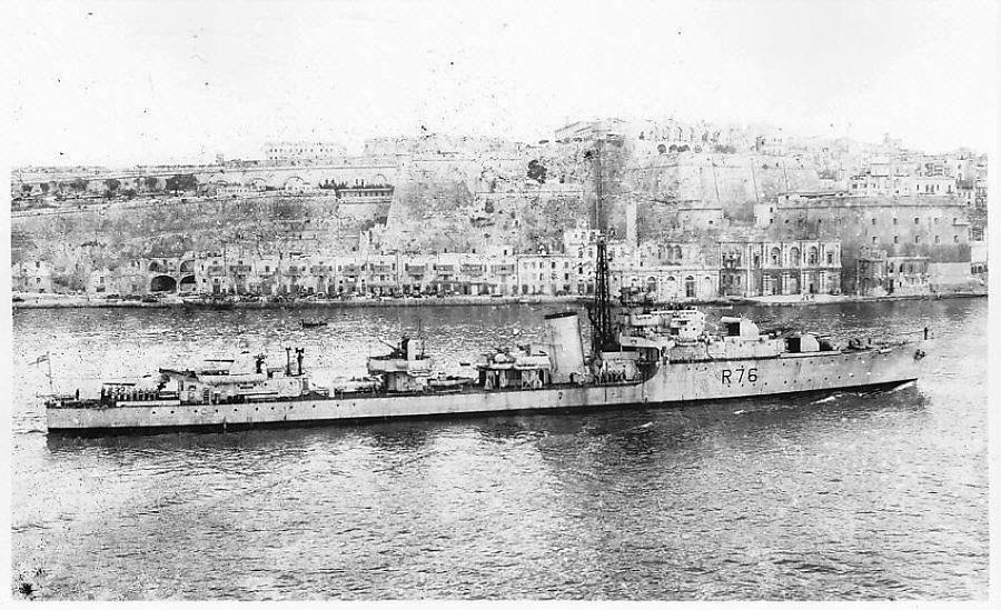 DESTROYER DE LA ROYAL NAVY : du CAESAR au DUCHESS Consor10