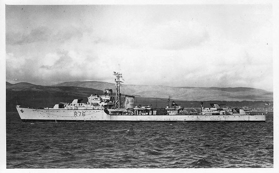 DESTROYER DE LA ROYAL NAVY : du CAESAR au DUCHESS Consor11