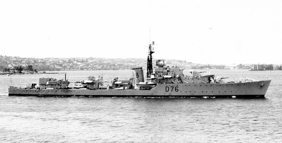 DESTROYER DE LA ROYAL NAVY : du CAESAR au DUCHESS Consor12