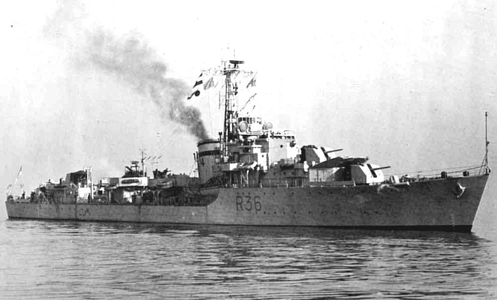 DESTROYER DE LA ROYAL NAVY : du CAESAR au DUCHESS Hms20c10