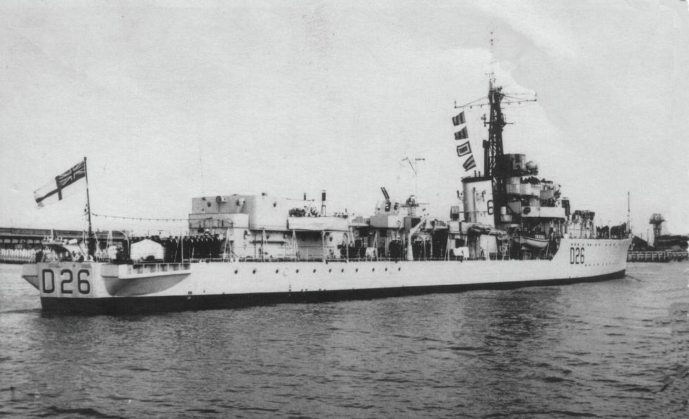DESTROYER DE LA ROYAL NAVY : du CAESAR au DUCHESS Hms20c11