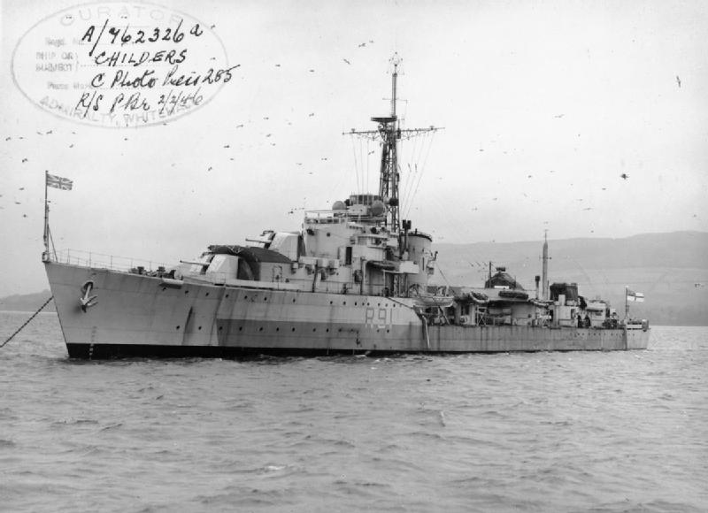 DESTROYER DE LA ROYAL NAVY : du CAESAR au DUCHESS Hms_ch10