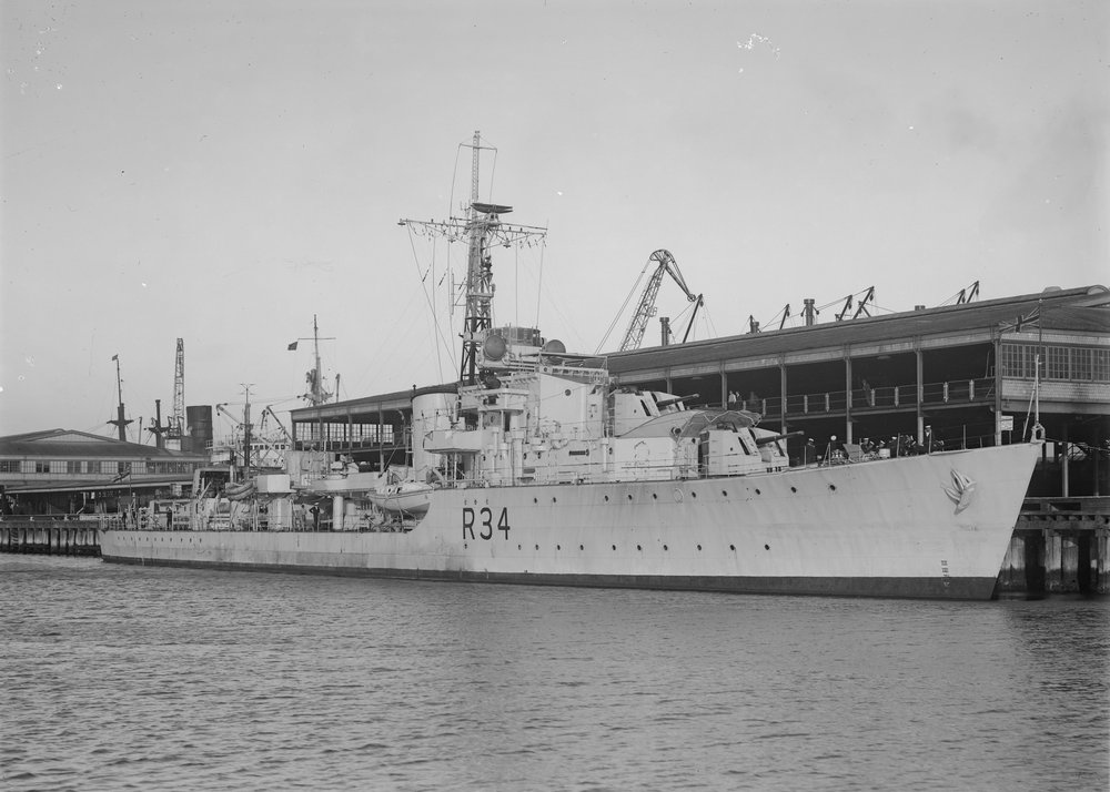 DESTROYER DE LA ROYAL NAVY : du CAESAR au DUCHESS Hms_co10