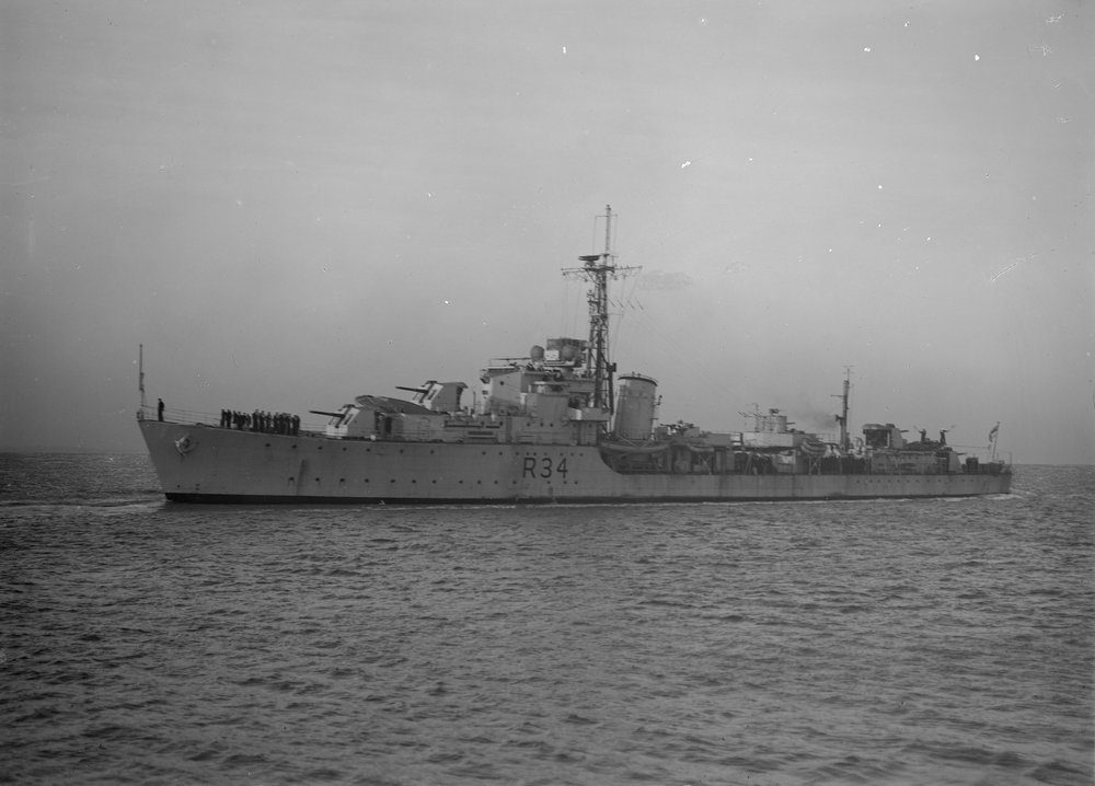 DESTROYER DE LA ROYAL NAVY : du CAESAR au DUCHESS Hms_co11