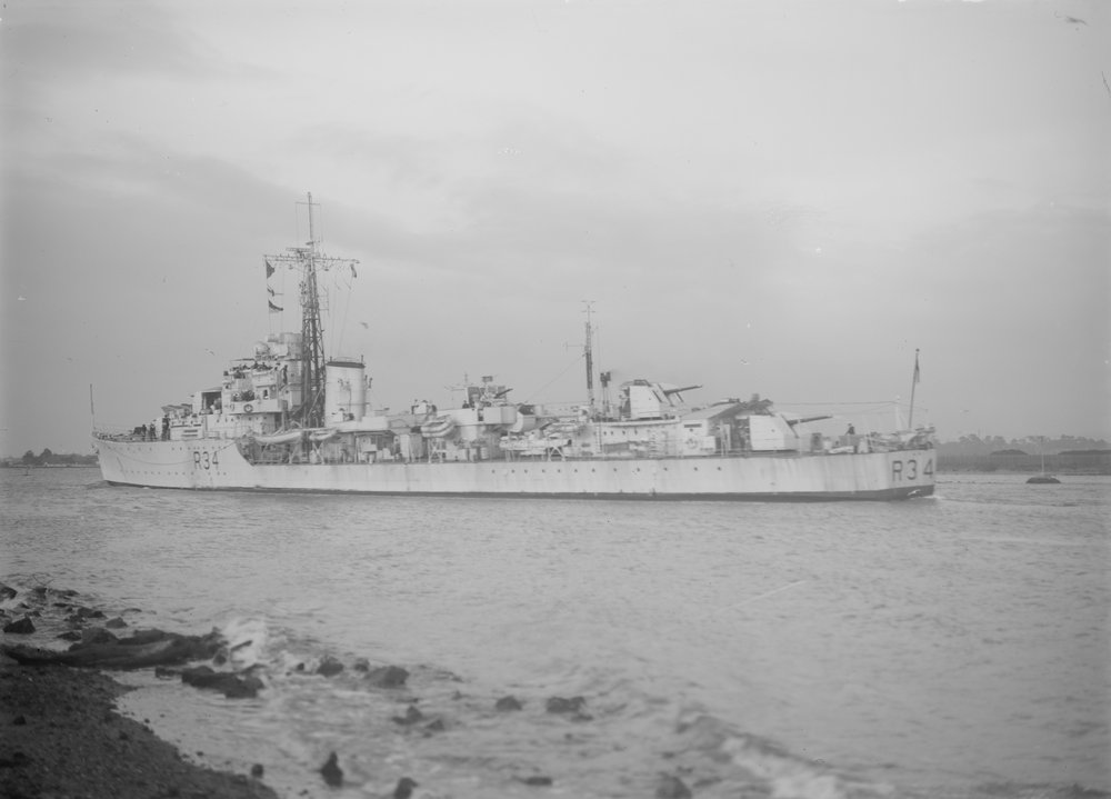 DESTROYER DE LA ROYAL NAVY : du CAESAR au DUCHESS Hms_co12