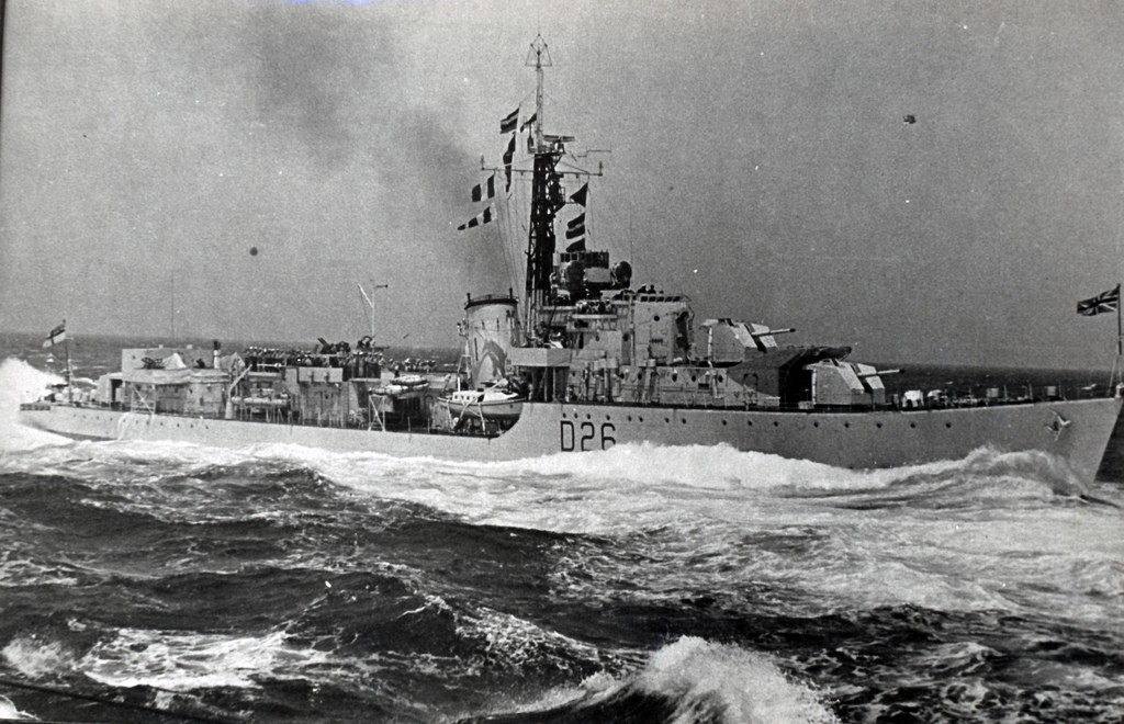 DESTROYER DE LA ROYAL NAVY : du CAESAR au DUCHESS Hms_co13