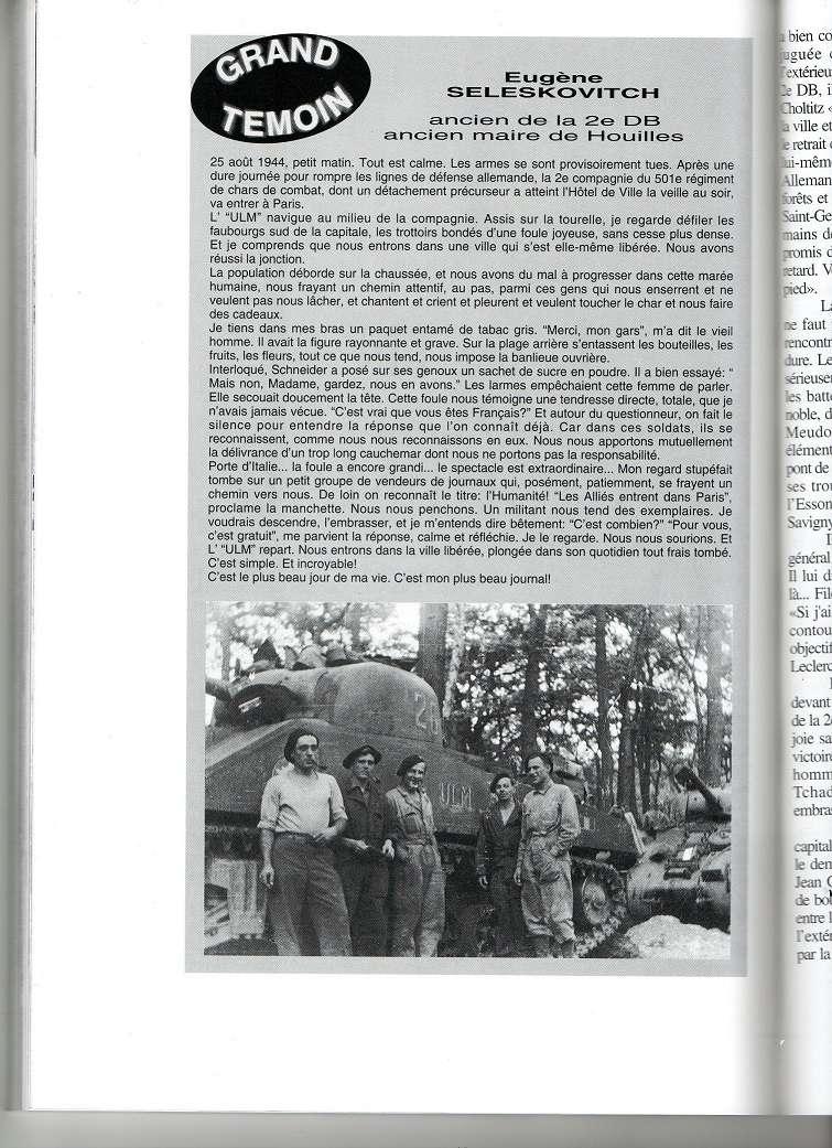 Theme de collection le  501 Regiment de char de combat  Livre123