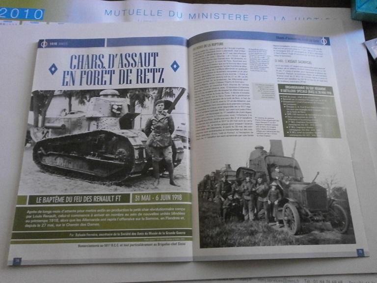 Theme de collection le  501 Regiment de char de combat  Revue_16