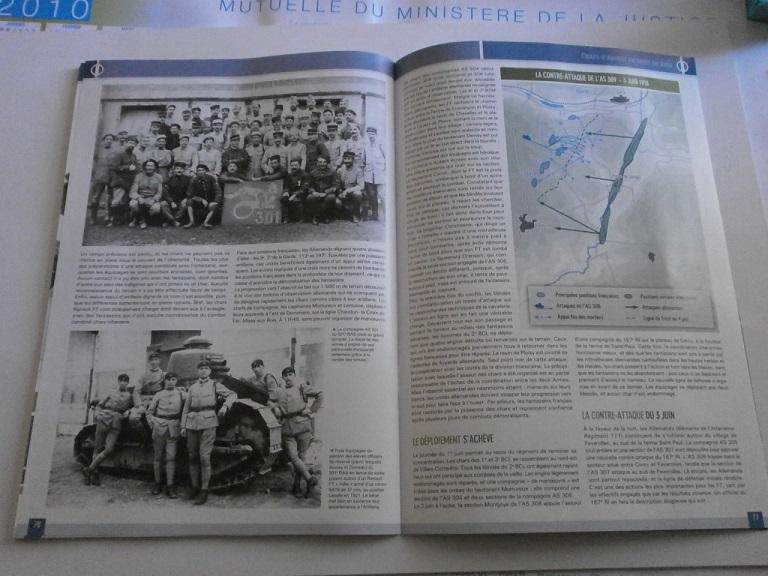 Theme de collection le  501 Regiment de char de combat  Revue_17