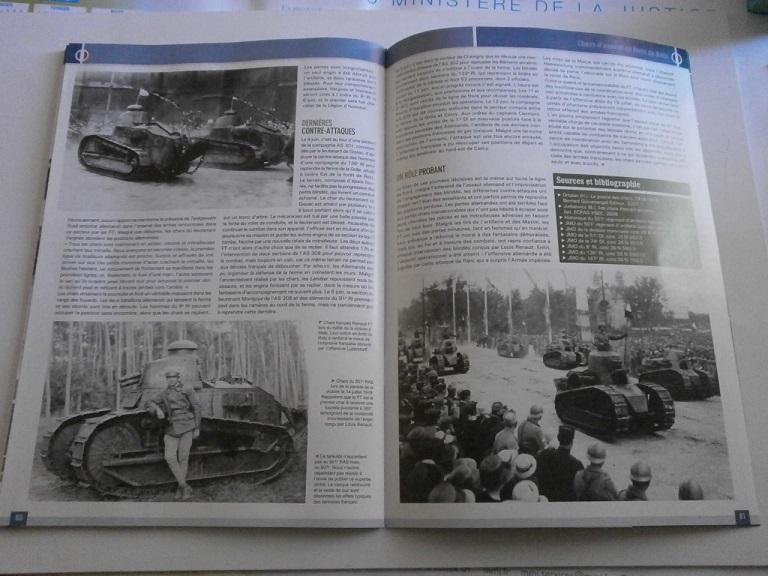 Theme de collection le  501 Regiment de char de combat  Revue_19