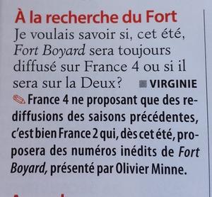 Rediffusions Fort Boyard sur France 4 + Audiences (Hiver 2014-2015) - Page 20 20150410