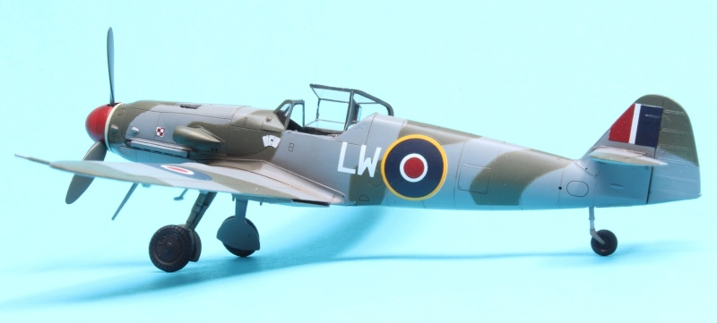 Polish Bf 109G-10/AS - Fine Molds 1/72 Img_4711