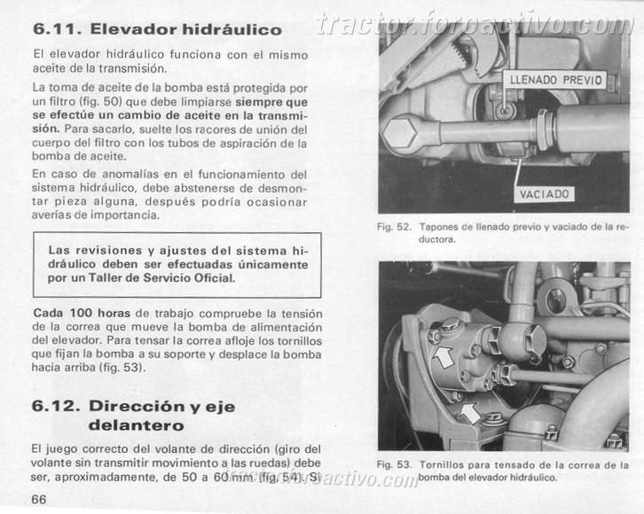 [Barreiros 4000V] ¿Cómo verificar nivel llenado aceite hidráulico? Barrei11