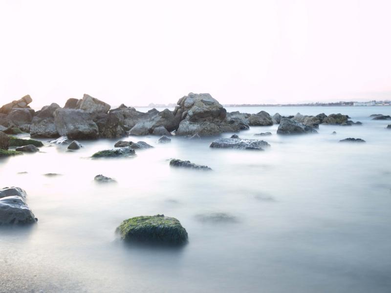 coucher de soleil sur la mer P4135410