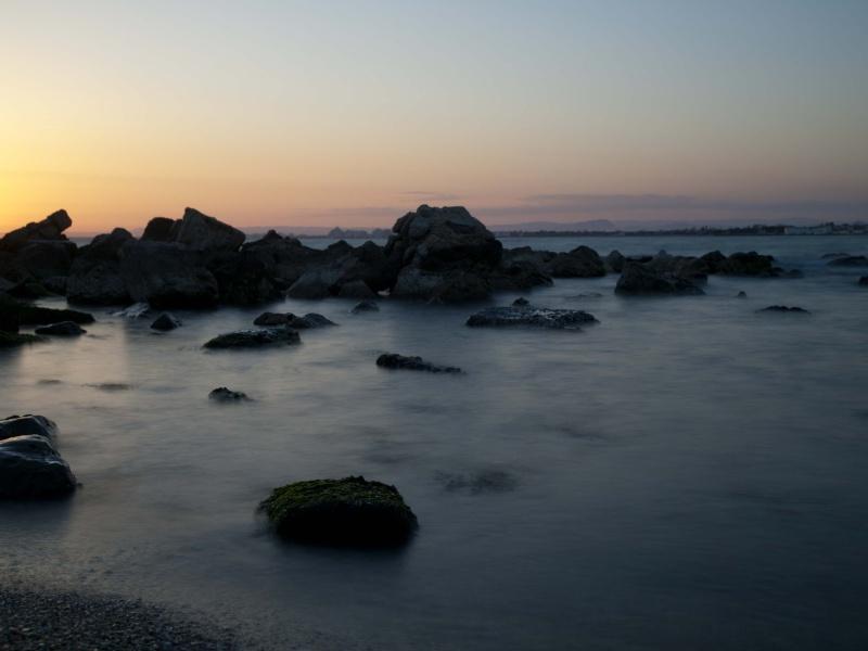 coucher de soleil sur la mer P4135411