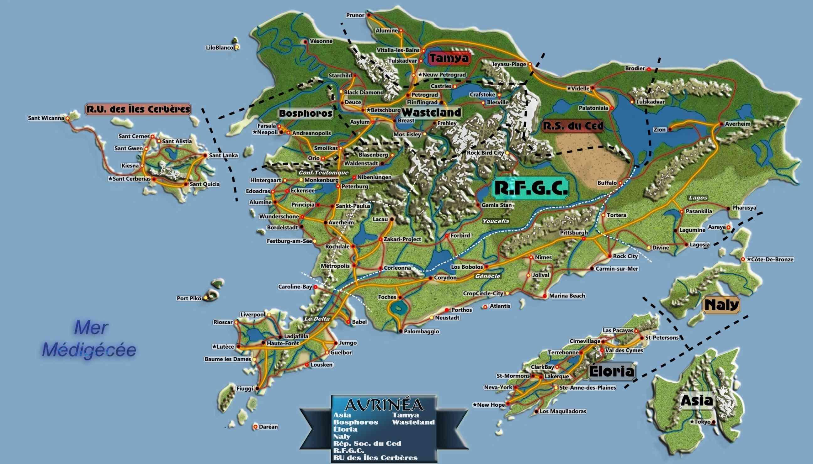 Carte du monde GC de nuit - Page 5 Carteg10