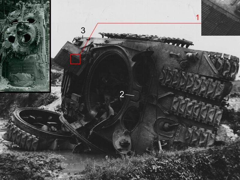 Sherman M4A2 base Accademy tourelle Tamiya 1/35 FINI M4a27510