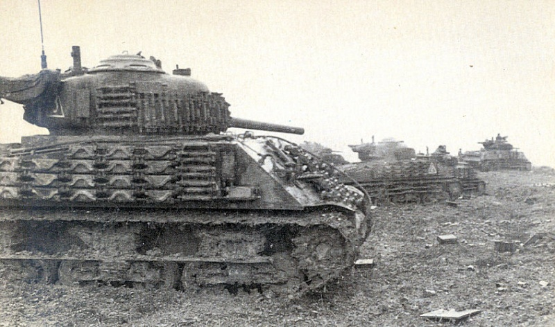 Sherman M4A2 base Accademy tourelle Tamiya 1/35 FINI Okie_010