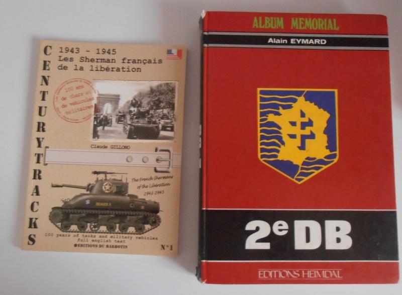 """Sherman M4A3 76 mm """" 2éme DB """" ( boite a rabiot 1/35éme ) P3210416"""