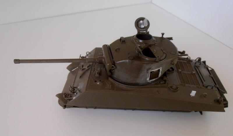 """Sherman M4A3 76 mm """" 2éme DB """" ( boite a rabiot 1/35éme ) P3230519"""