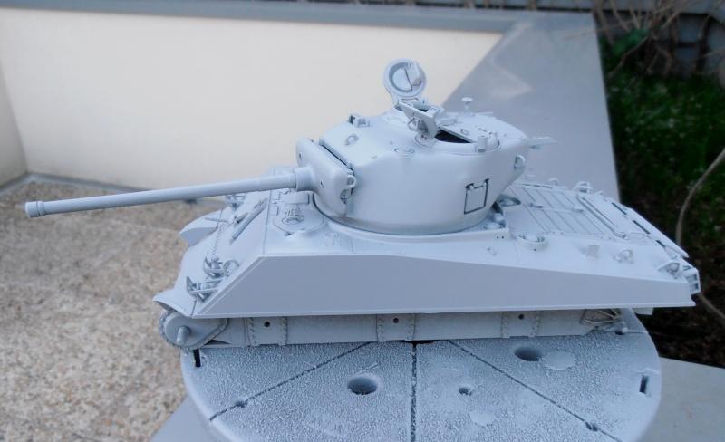 """Sherman M4A3 76 mm """" 2éme DB """" ( boite a rabiot 1/35éme ) P3230520"""
