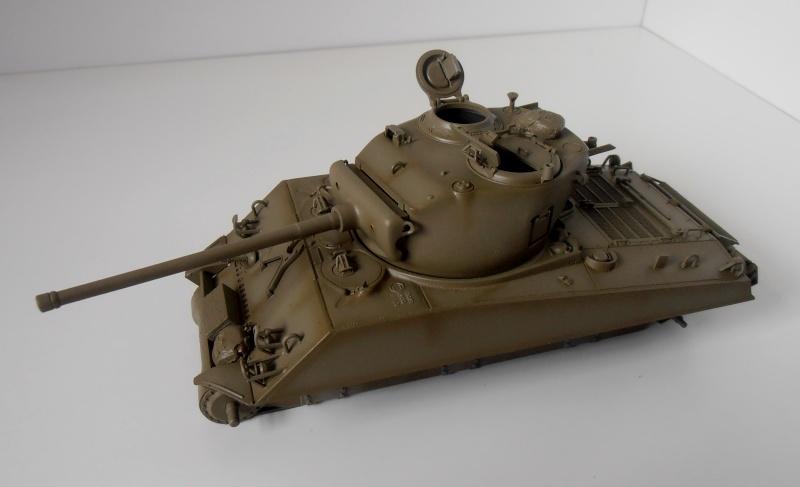 """Sherman M4A3 76 mm """" 2éme DB """" ( boite a rabiot 1/35éme ) P3290510"""