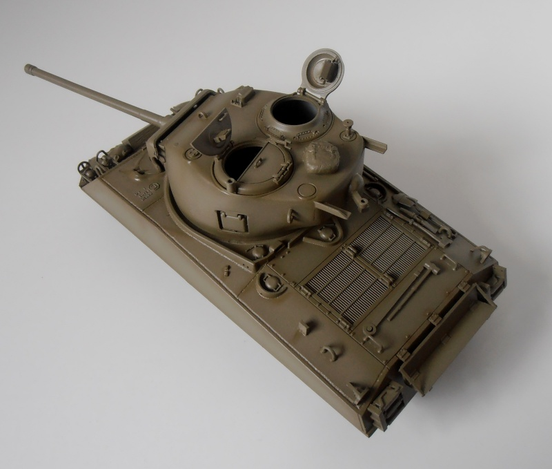 """Sherman M4A3 76 mm """" 2éme DB """" ( boite a rabiot 1/35éme ) P3290611"""