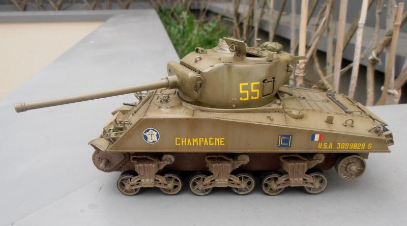 """Sherman M4A3 76 mm """" 2éme DB """" ( boite a rabiot 1/35éme ) - Page 2 P4160714"""