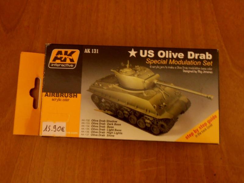 """Sherman M4A3 76 mm """" 2éme DB """" ( boite a rabiot 1/35éme ) - Page 3 P4180710"""