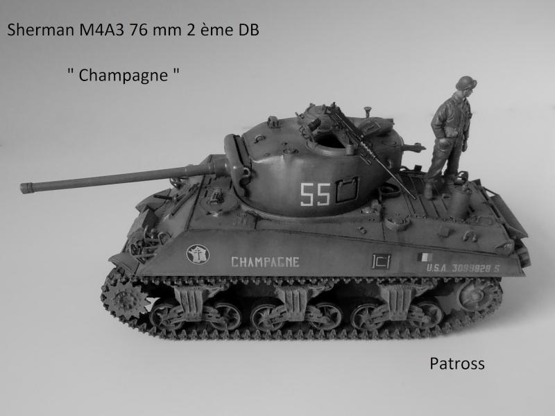 """Sherman M4A3 76 mm """" 2éme DB """" ( boite a rabiot 1/35éme ) - Page 4 P4190715"""