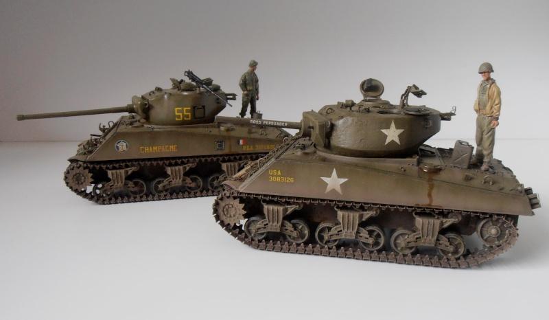 """Sherman M4A3 76 mm """" 2éme DB """" ( boite a rabiot 1/35éme ) - Page 4 P4190721"""